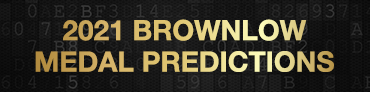 Stats Insider 2021 Brownlow Medal Predictions